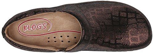 Klogs Usa Vrouwen Missie Mule Brown Croc