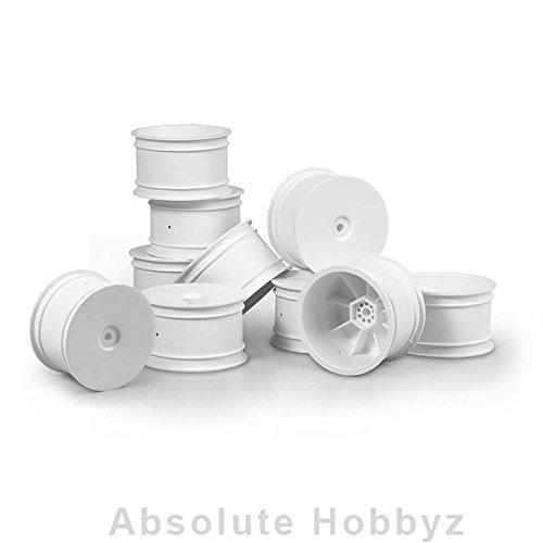 XRAY Rear Wheels Aerodisk - White (10)