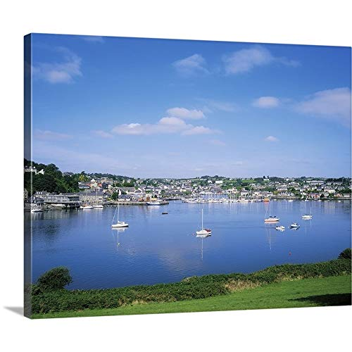 """GREATBIGCANVAS Gallery-Wrapped Canvas Entitled Kinsale, Co Cork, Ireland by The Irish Image Collection 24""""x19"""""""