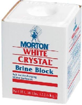 MORTON SALT 1600 50LB Brine Salt Block ()