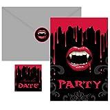 Fangtastic Invitations 20 per pack
