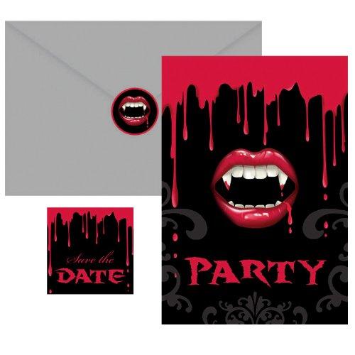 Fangtastic Invitations 20 per -