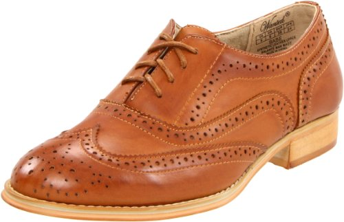 Wanted Shoes Women's Babe Oxford, Tan, 8 M US