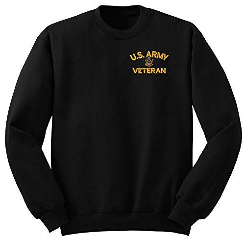 (ARMY U.S. Army Veteran Military Crew Neck Sweatshirt X-Large)