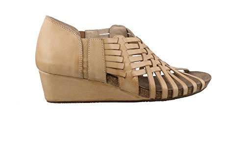 Huarache Women's Camel Chocolate Wedge Heel Sandals Tide Blu rwrqTXR