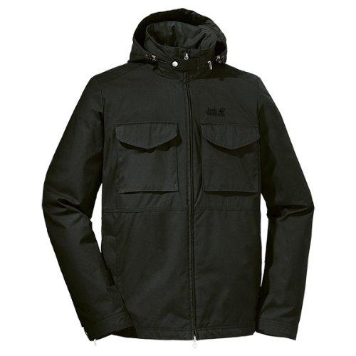 Jack Wolfskin Men's Atlas Road Jacket Black