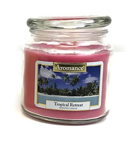 AttractionOil Gifts Aromance Seaside Retreat Candle (Tropical Retreat) (Retreat Tropical)