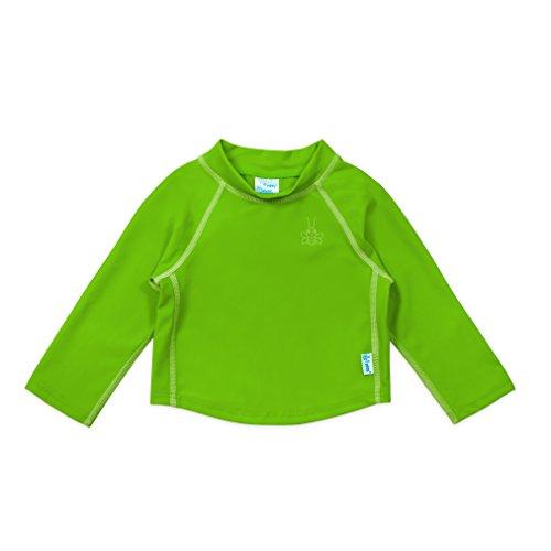 i play. Long Sleeve Rashguard Shirt | All-day UPF 50+ sun protection-wet or dry,Green Classic,3T