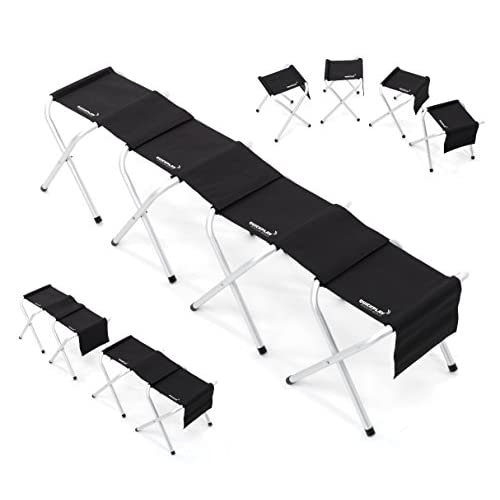 QUICKPLAY Portable Lightweight Sports Team Bench - with Modular Design by QuickPlay
