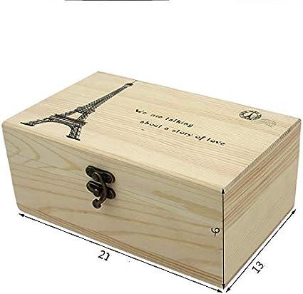Botones Cinta M/étrica etc 116 Piezas Accesorios de Costura para Hilos de Coser Tijeras Agujas MKNZONE Caja de Costura de Madera Alfileres