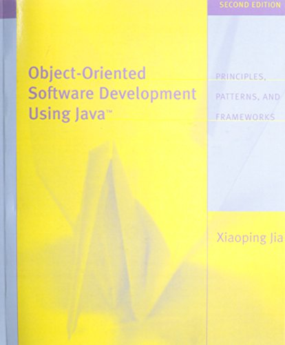 Object Oriented Software Development Using Java (2nd Edition) by Pearson