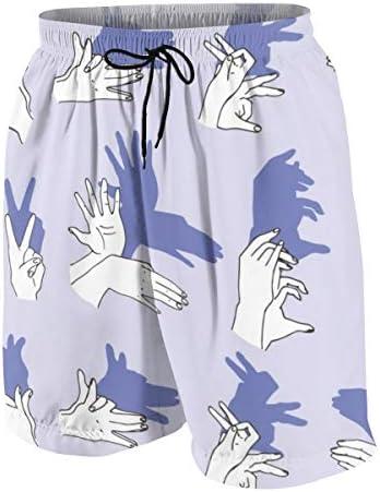 キッズ ビーチパンツ 手 シルエット サーフパンツ 海パン 水着 海水パンツ ショートパンツ サーフトランクス スポーツパンツ ジュニア 半ズボン ファッション 人気 おしゃれ 子供 青少年 ボーイズ 水陸両用