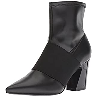 NINE WEST Women's Delayna Synthetic Ankle Boot 7
