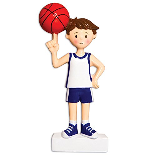 Grantwood Technology Personalized Christmas Ornaments Sports BOY Basketball