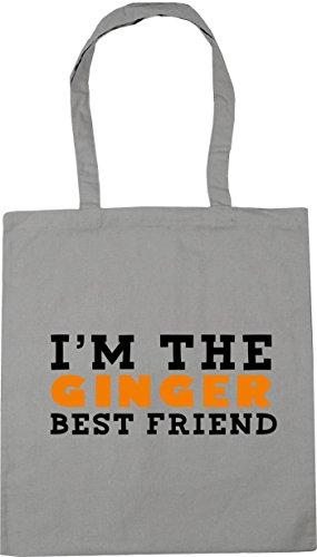 the Gym friend HippoWarehouse Tote ginger 10 litres best Light 42cm Bag Grey Beach x38cm I'm Shopping Bwwqf05x