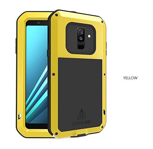 best service 27b56 fa796 Amazon.com: Love Mei Samsung Galaxy A6 Plus 2018 Case,Outdoor ...