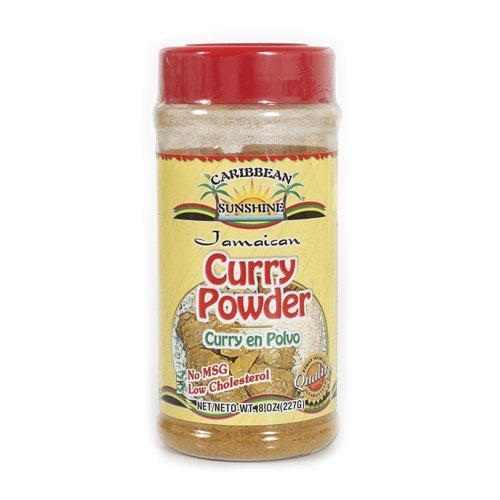 Caribbean Sunshine JAMAICAN CURRY POWDER 8 0Z by Caribbean Sunshine