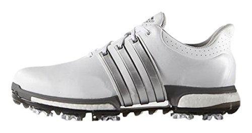 adidas Tour360 Boost, Scarpe da Golf Uomo, Multicolore (Blanco/Plata),