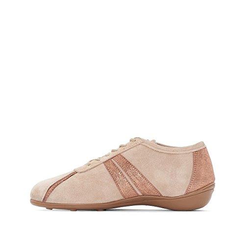 Anne Weyburn Frau Ledersneakers Zweifarbig Gre 42 Rosa