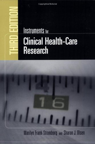 Instruments For Clinical Health-Care Research (Jones and Bartlett Series in Oncology) by Brand: Jones Bartlett Learning