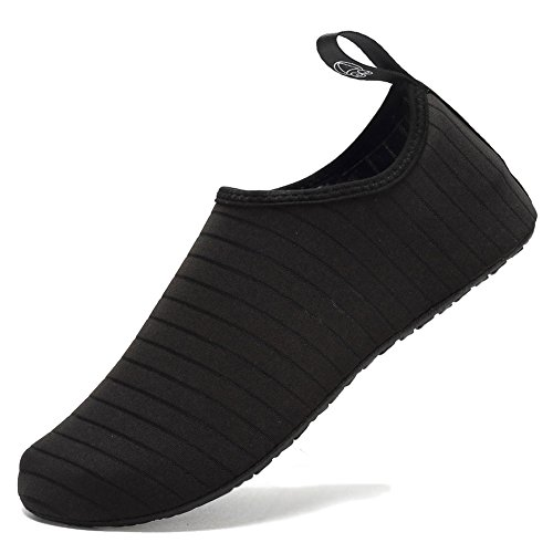 Barefoot Anti Shoes Socks B black EQUICK Water Aqua Men Women Slip Beach Exercise Sole Surf Lightweight Pool qXwYgCTx