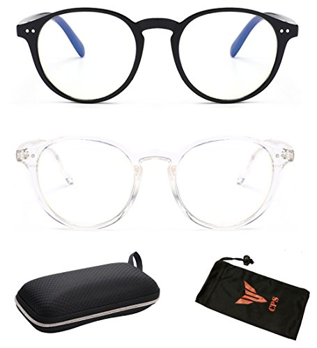 3c529ff4738 Nearsighted Round Shape Distance Driving Glasses Clear Vision UV Protection  (-3.0 blk clr)