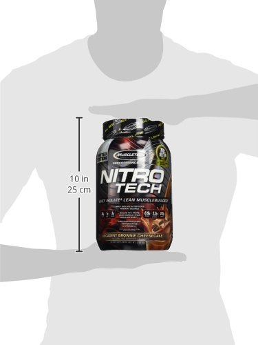 MuscleTech Performance Series Nitro Tech Supplement, Vanilla, 1 Pound