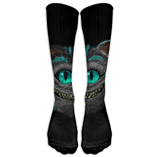 Cheshire-Cat-Alice-In-Wonderland Compression Socks Comfortable Breathable And Stylish Calf Socks Athletic Long Socks