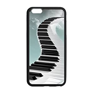 super shining day Discount Piano Pattern TPU Material Snap on Case Cover for iPhone 6 Plus 5.5