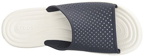 Crocs Citilane Roka, Sandali Infradito Uomo Blu/Bianco