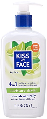 Kiss My Face, Moisture Shave, Key Lime, 11 oz
