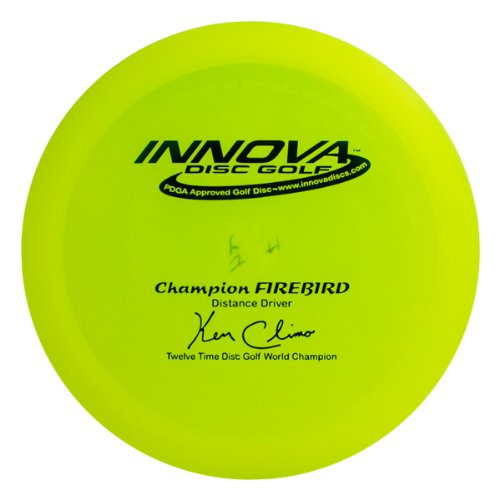 Innova Disc Golf Champion Material Firebird Golf Disc, 151-164gm (Colors may vary)