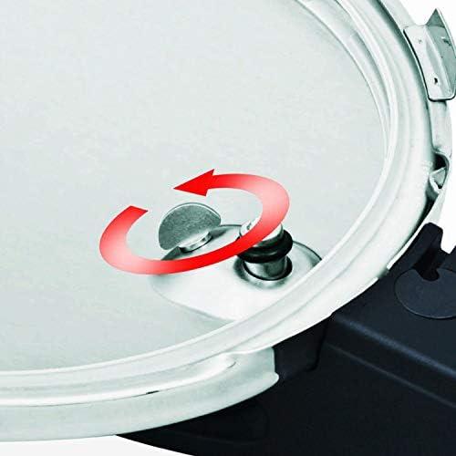 Fissler vitaquick Pressure Coocker Stainless Steel Induction, 2.6 Quart, silver