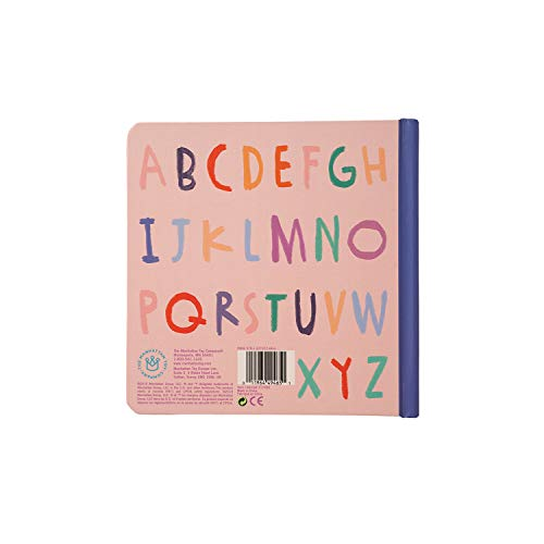 Manhattan Toy Mermaid's ABCs Baby Board Book, Ages 6 Months and up