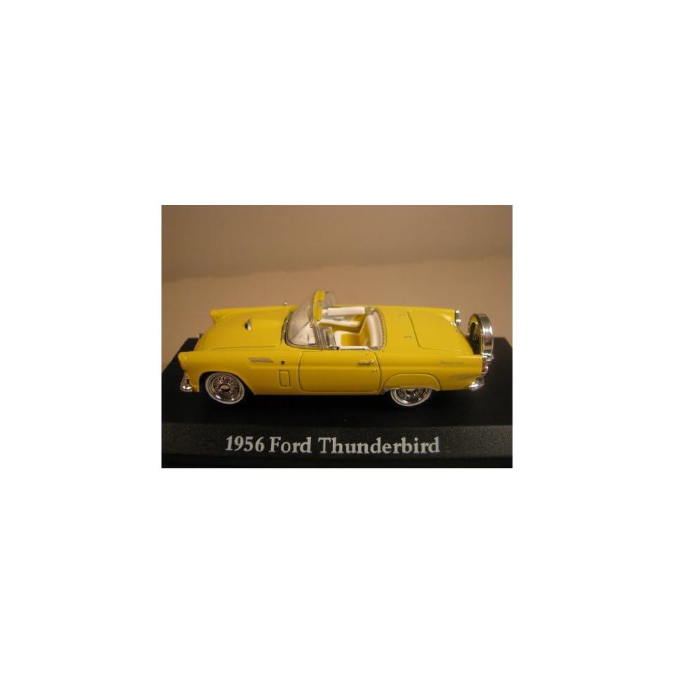 American Graffiti * Yellow 1956 Ford Thunderbird * 143 Die cast
