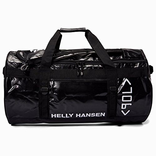 Borsa a bracciali Helly Hansen 90L Accessori all'aperto Light Hold Orange, Nero, Taglia Unica