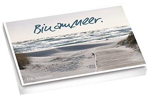 Bin am Meer.: Postkartenbuch mit 20 verschiedenen Motiven