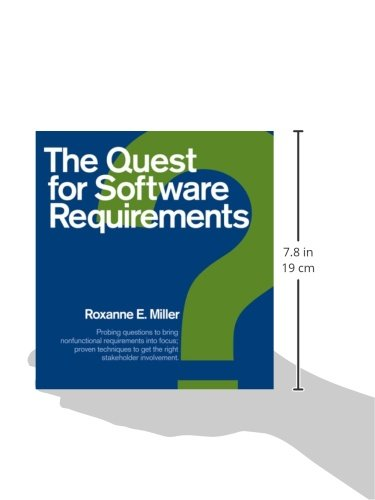 The quest for software requirements roxanne e miller the quest for software requirements roxanne e miller 9781595980670 amazon books fandeluxe Images