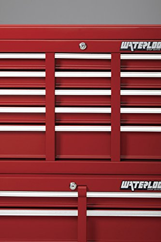 Waterloo Shop Series 5-Drawer Tool Cabinet, Red Finish, 26'' W - Designed, Engineered and Assembled in the USA by Waterloo (Image #6)
