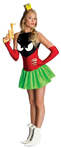Alien Movie Halloween Costume (Secret Wishes Marvin The Martian Adult Costume, As Shown,)