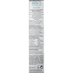 Vichy LiftActiv Serum 10 Supreme Hyaluronic Acid Anti-Aging Serum, 1.01 Fl. Oz.