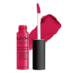 Neither lipstick nor lip gloss, this matte lip cream is a new kind of lip color that goes on silky smooth and sets to a matte finish. Soft Matte Lip Cream is surprisingly durable and unlike some matte lipstick formulas, delightfully creamy an...
