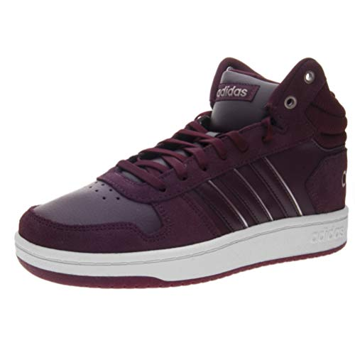 0 Mid Chaussures maroon ftwwht Rot Basketball 2 maroon maroon Femme De Hoops Adidas Maroon ftwwht tqw4EBfq