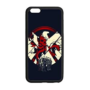 the Case Shop- Agents of Shield TV Show Avengers iPhone 6 Plus 5.5 Inch TPU Rubber Hard Back Case Cover Skin , i6pxq-173