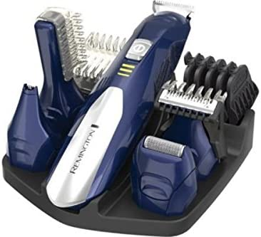 Remington PG6045 Recargable Azul, Plata cortadora de pelo y maquinilla - Afeitadora (Azul, Plata, Titanio, 1,6 cm, 1,5 mm, 40 min, Oído, Ceja, Nariz)