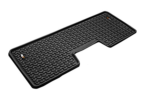 Liner Floor Row (Rugged Ridge All-Terrain 82952.12 Black Second Row Floor Liner For Select Ford F-150 Models)