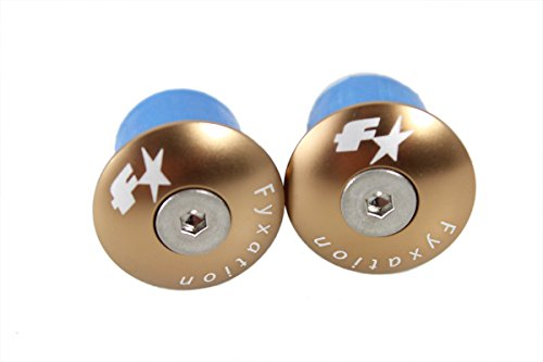 Fyxation Bar End Anodized Plugs, -