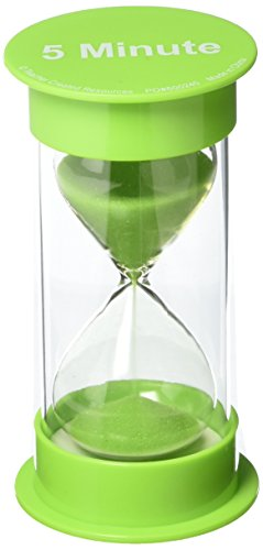 Large Sand Timer - Teacher Created Resources (20761) 5 Minute Sand Timer - Medium