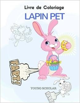 Livre De Coloriage Lapin Pet French Edition Amazon Com