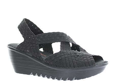 bernie mev. Women's Brighten Black Sandal 41 (US Women's 10.5) M